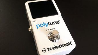 TC ELECTRONIC PolyTune2 レビューのアイキャッチ画像